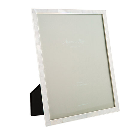 """Addison Ross - Cream Mother of Pearl & Silver Photo Frame - 8x10"""""""