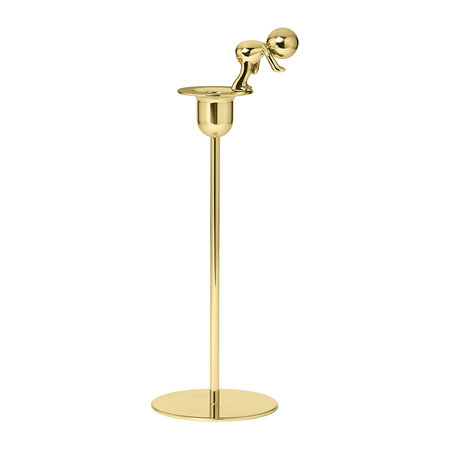 GHIDINI 1961 - Omini Brass Candle Holder - The Diver