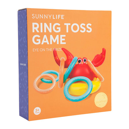 Sunnylife - Inflatable Crabby Ring Toss Game