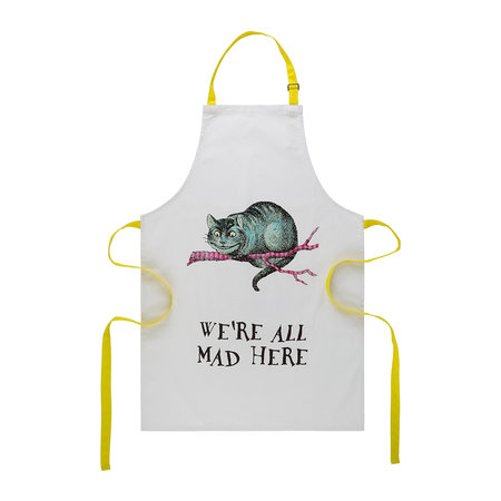 Mrs Moore's Vintage Store - Alice In Wonderland Apron - Cheshire Cat