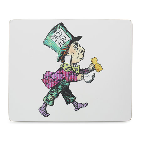 Mrs Moore's Vintage Store - Alice In Wonderland Placemat - Mad Hatter