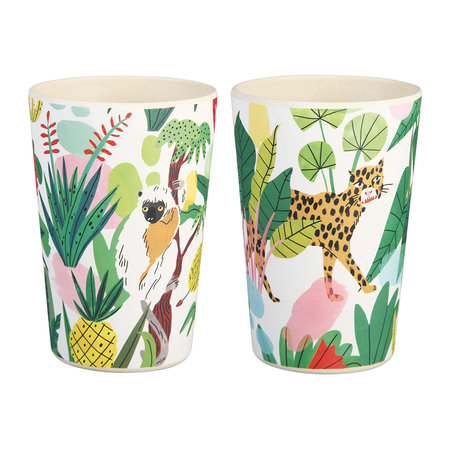 &Klevering - Bodil Bamboo Cups - Set of 2
