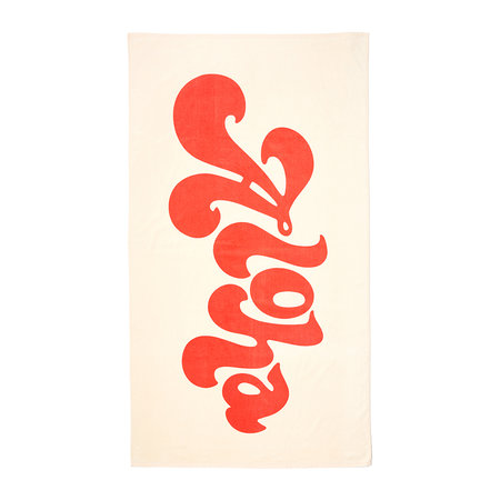 ban.do - Beach, Please! Giant Beach Towel - Aloha