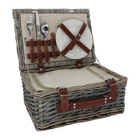A by AMARA - 2 Person Chipwood Hamper
