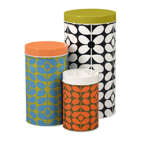Orla Kiely - 60's Stem Canisters - Set of 3
