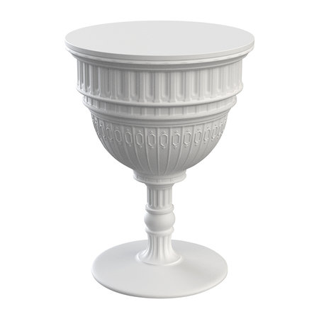Qeeboo - Table d'Appoint Capitol - Blanc