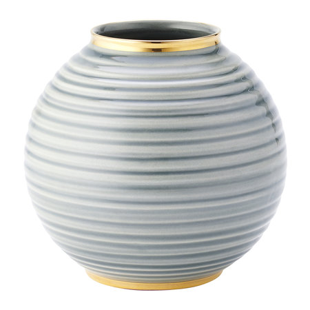 AERIN - Calinda Round Vase - Shadow