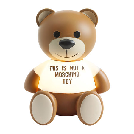 Kartell - This Is Not A Moschino Toy Lamp by Jeremy Scott