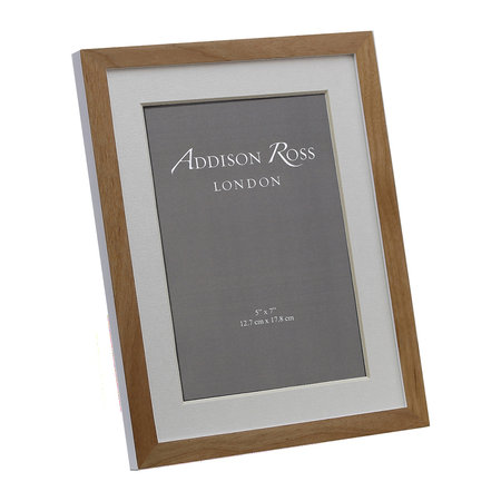 Addison Ross - Alder Photo Frame - Natural/White - 4x6""