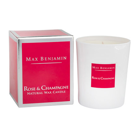 Max Benjamin - Classic Collection Scented Candle - 190g - Rose & Champagne