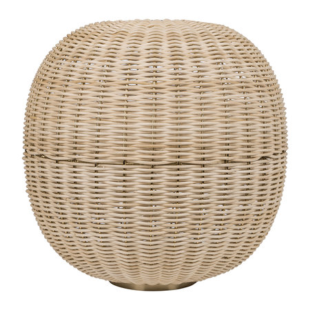 Global Explorer - Round Wicker Weave Hurricane - Natural