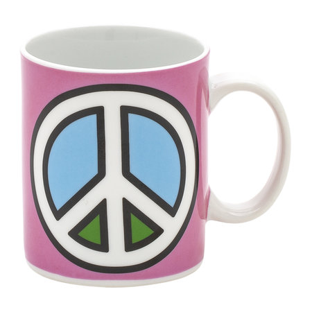 Seletti - 'Blow' Mug - Peace