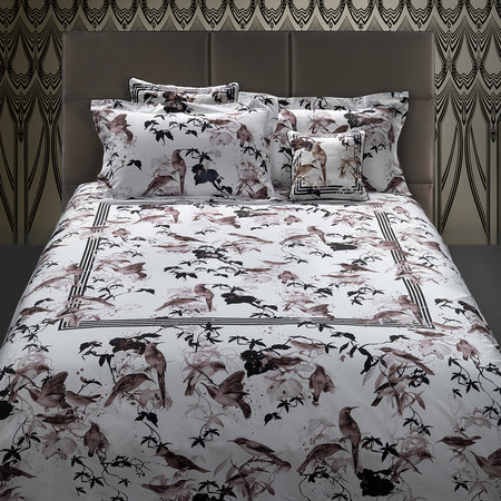 Roberto Cavalli - Bird Ramage Bed Set - Rose - King