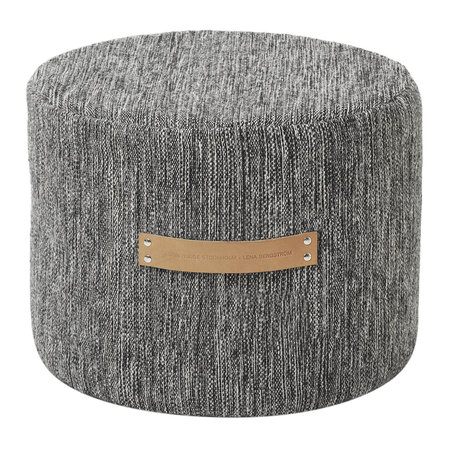 Design House Stockholm - Bjork Pouf - Dark - Low