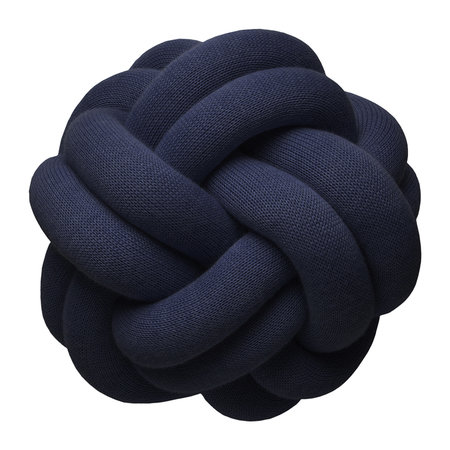 Design House Stockholm - Knot Cushion - 30x30cm - Navy