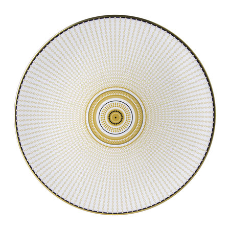Royal Crown Derby - Oscillate Charger Plate - Ochre
