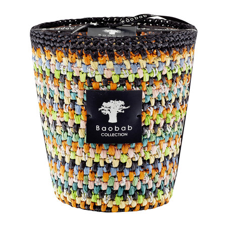Baobab Collection - Raffia Scented Candle - Limited Edition - Maeva - 16cm