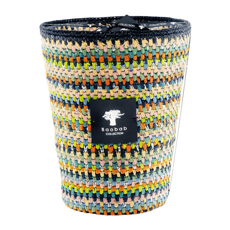 Baobab Collection - Raffia Scented Candle - Limited Edition - Maeva - 24cm