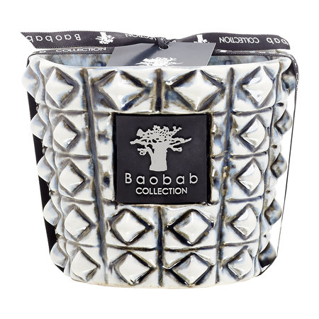 Baobab Collection - Ceramica Scented Candle - Limited Edition - Terra Negra - 10cm