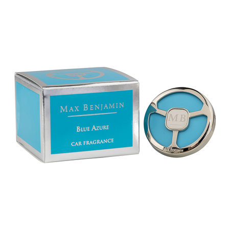 Max Benjamin - Classic Collection Car Fragrance and Refill - Blue Azure
