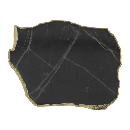 A by Amara - Black Onyx Coasters - Set of 4