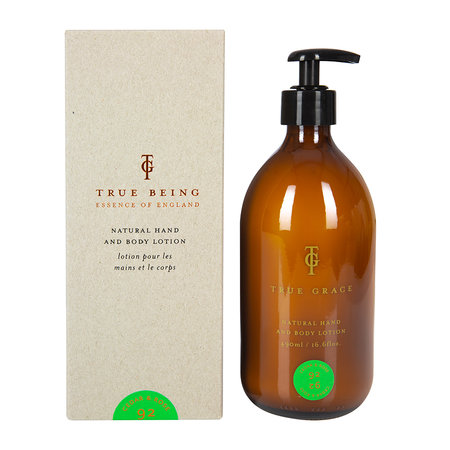 True Grace - Burlington Hand and Body Lotion - 500ml - Cedar & Rose