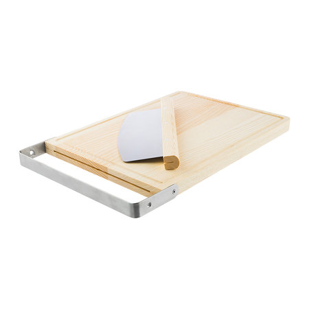 The Bakehouse & Co - Ash Chopping Board & Rocker Cutter
