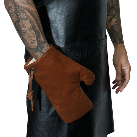 DutchDeluxes - Leather Oven Glove - Classic Brown