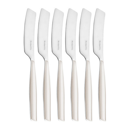 Casa Bugatti - Glamour Spreaders - Set of 6 - Ivory