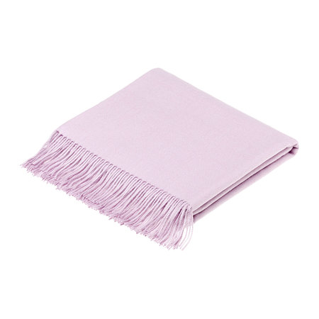 Bronte by Moon - Alpaca Throw - Dusky Pink