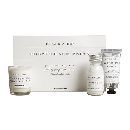 Plum & Ashby - Breathe and Relax Gift Set