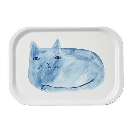 Donna Wilson - Cat Mini Tray - Blue