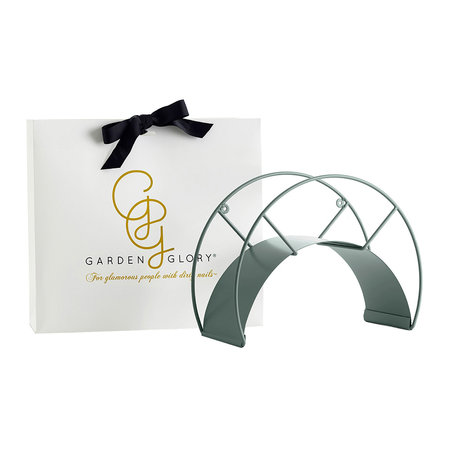 Garden Glory - Classic Wallmount - Stainless Steel with Powdercoating - Eucalyptus Leaf
