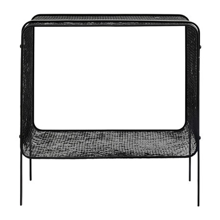 Nordal - Iron Side Table - Black - Low