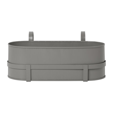 Ferm Living - Bau Balcony Plant Box - Warm Grey