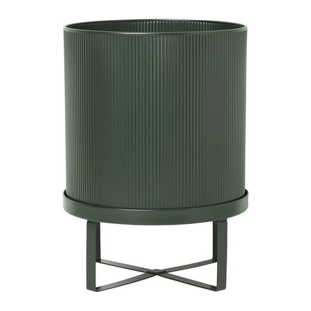 Ferm Living - Bau Plant Pot - Dark Green - Large