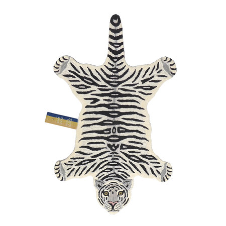 Doing Goods - Snowy Tiger Rug - Off White - Large
