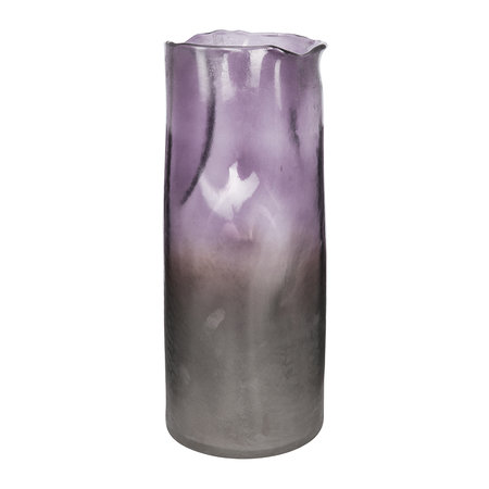 A by AMARA - Purple Ombre Melted Vase - Large
