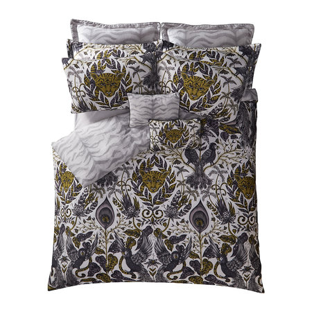 Emma J Shipley - Amazon Quilt Cover - Gold - Super King