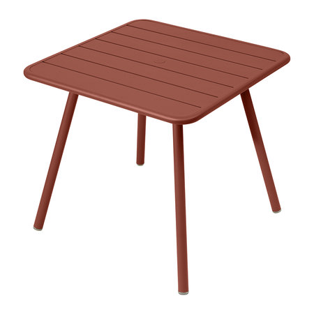Fermob - Luxembourg Garden Table - Red Ochre