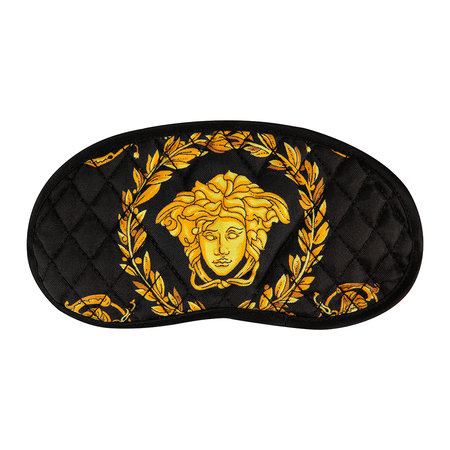 Versace Home - Barocco Fabric Night Mask - Black/Gold