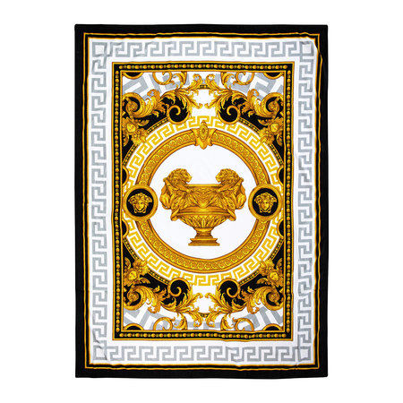 Versace Home - Serviette de Bain I Love Baroque - Or/Blanc/Noir