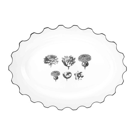 Christian Lacroix - Herbariae Oval Platter