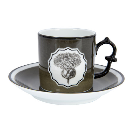Christian Lacroix - Herbariae Coffee Cup and Saucer - Set of 2