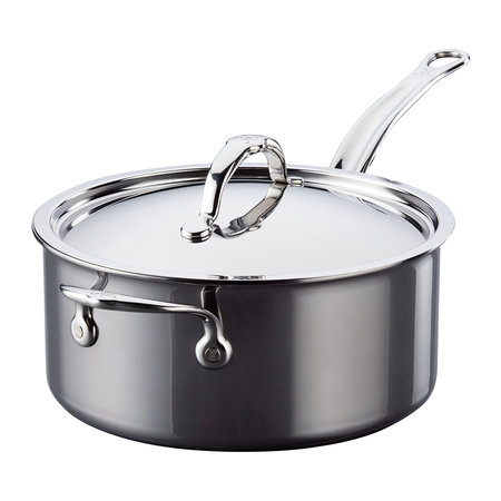 Hestan - Stainless Steel Saucepan & Lid with Handles - 22cm