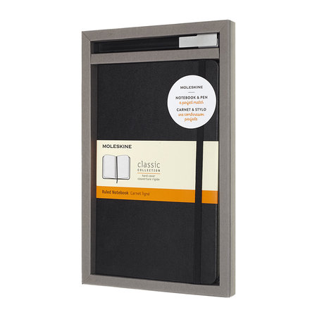 Moleskine - Bundle Notebook & Pen Set - Black