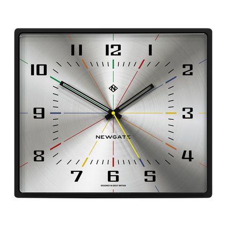 Newgate Clocks - Box Office Clock - Silver