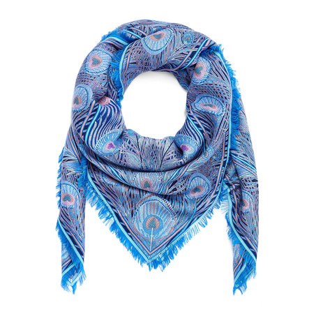 Liberty London - Hera Scarf - 140x140cm - Blue