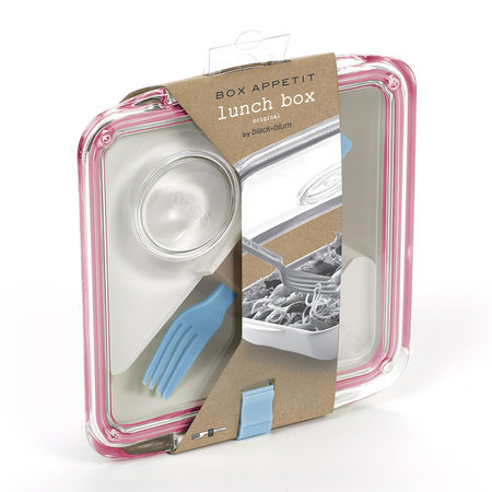 black + blum - Lunchbox Box Appetit avec Fourchette - Rose