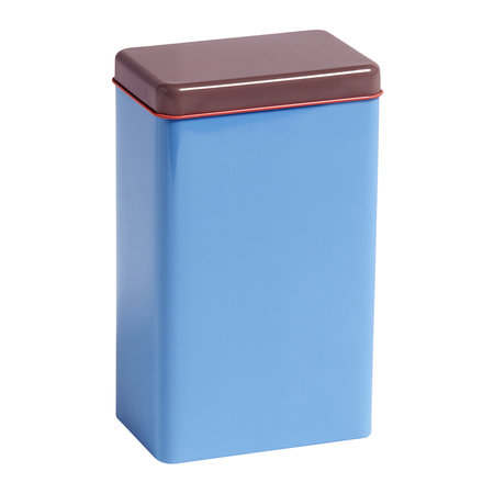 HAY - Bright Storage Tin by Sowden - Blue